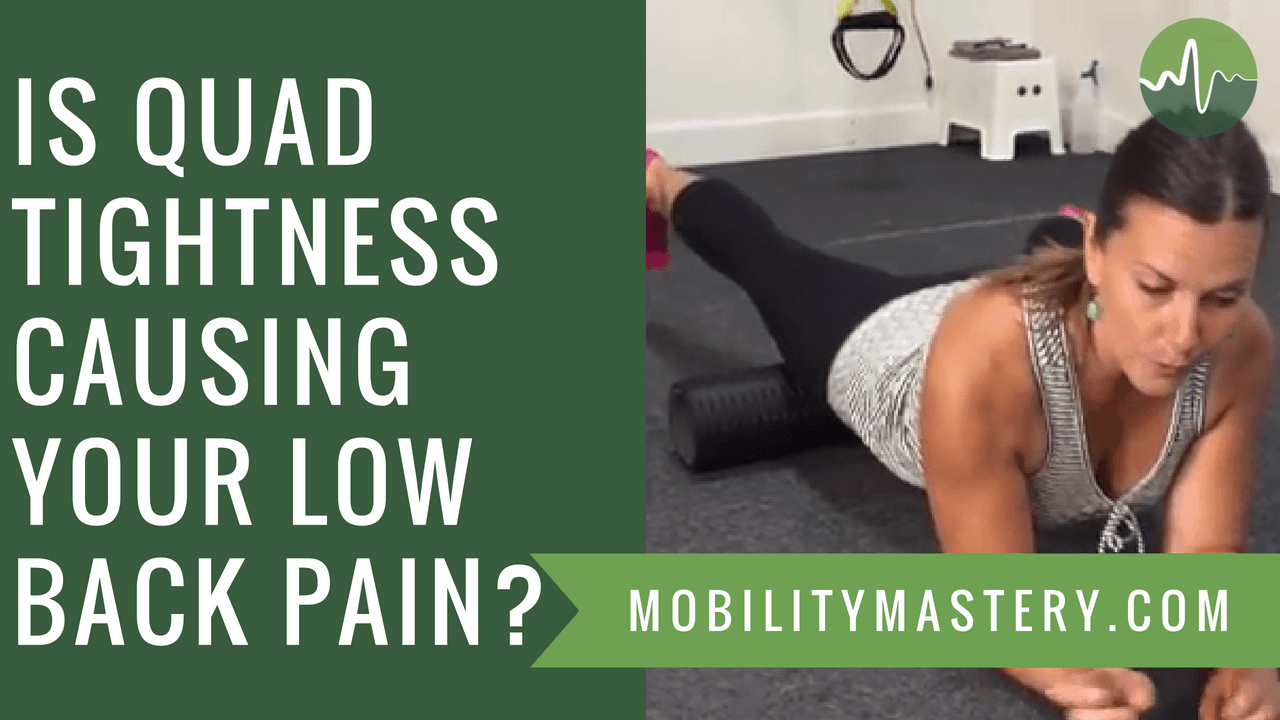 Quad and Hip Flexor Release - This ONE Technique Relieves Piriformis