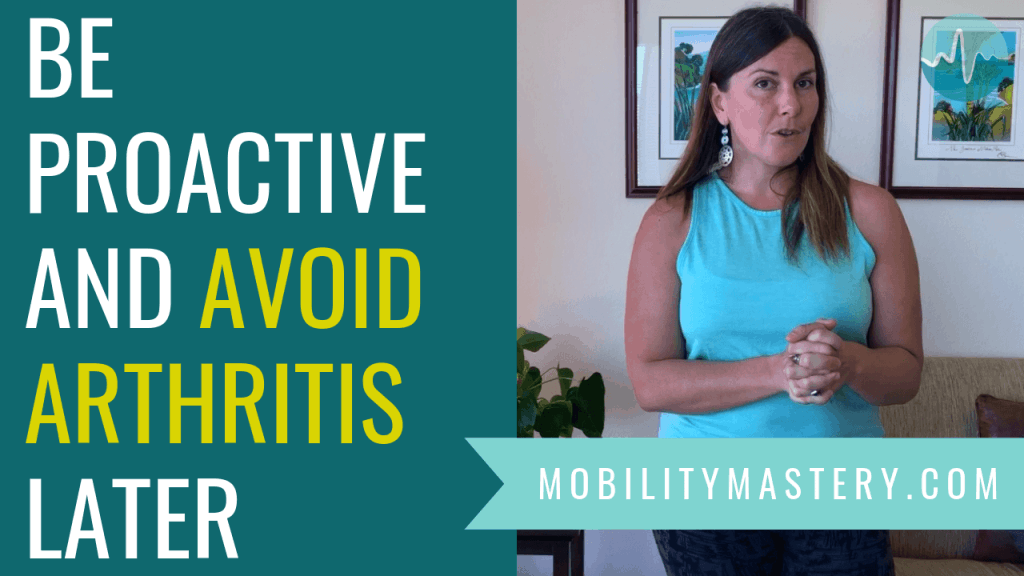"Arthritis means ""inflammation of the joint."" Why would a joint become permanently inflamed? Inflammation usually happens because your body has detected an area that is damaged and is isolating it in order to cue more blood flow to that specific area."