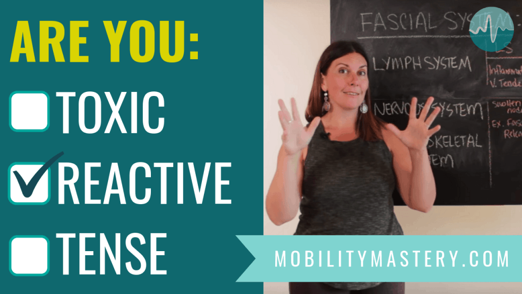 In this video I'm walking you through a simple fascia self-assessment so you can make sense of what you feel when you use fascia release.